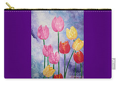 Tulips - Red-yellow-pink Carry-all Pouch
