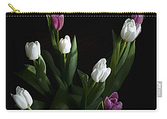 Carry-all Pouch featuring the photograph Tulips by Rhonda McDougall