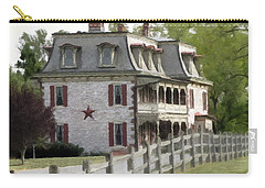 Carry-all Pouch featuring the photograph Tulpehocken Manor Plantation Historic Site  by David Dehner