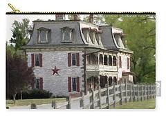 Tulpehocken Manor Plantation Historic Site  Carry-all Pouch by David Dehner