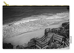 Tulum Beach Carry-all Pouch by Ana Mireles