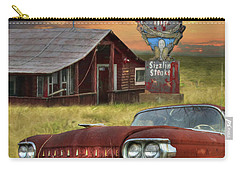 Carry-all Pouch featuring the photograph Tumble Inn by Lori Deiter