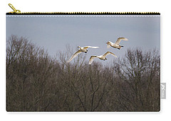 Tundra Swan Trio Carry-all Pouch
