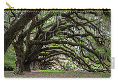 Carry-all Pouch featuring the photograph Tunnel In Charleston by Jon Glaser