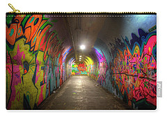 Tunnel Of Graffiti Carry-all Pouch by Mark Andrew Thomas