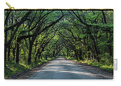 Carry-all Pouch featuring the photograph Tunnel On Botany Bay by Jon Glaser