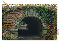 Tunnel On Pathway Carry-all Pouch by Sandy Moulder