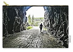 Carry-all Pouch featuring the photograph Tunnel Vision by Nadine Dennis