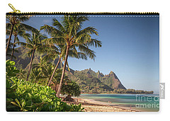 Tunnels Beach Haena Kauai Hawaii Bali Hai Carry-all Pouch