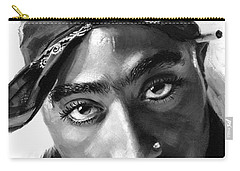 Tupac Rapper Carry-All Pouches