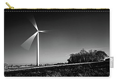 Carry-all Pouch featuring the photograph Turbine by Will Gudgeon