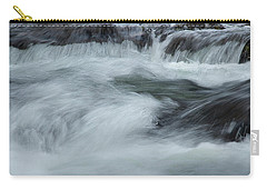 Carry-all Pouch featuring the photograph Turbulence  by Mike Eingle