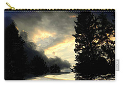 Carry-all Pouch featuring the photograph Turbulent by Elfriede Fulda