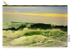 Turbulent Ocean Swell Carry-all Pouch