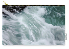 Turbulent Seas Carry-all Pouch by Donna Blackhall