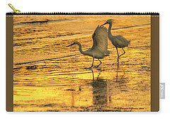 Cattle Egret Carry-all Pouches