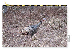 Carry-all Pouch featuring the photograph Turkey 1155 by Michael Peychich