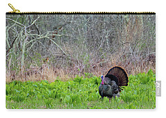 Carry-all Pouch featuring the photograph Turkey And Cabbage by Bill Wakeley