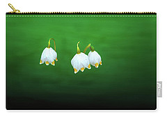 Carry-all Pouch featuring the photograph Turkey-eggs On Green #g2 by Leif Sohlman