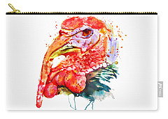 Turkey Head Carry-all Pouch by Marian Voicu
