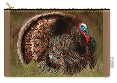 Turkey In The Straw Carry-all Pouch