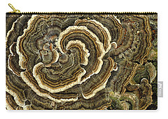 Turkey Tail Fungus Carry-all Pouch
