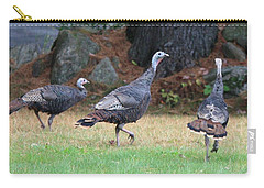 Turkey Trio Carry-all Pouch