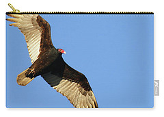 Turkey Vulture Carry-all Pouch by Debbie Stahre