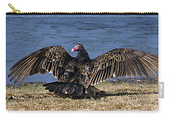 Turkey Vulture Drying It's Wings Carry-all Pouch