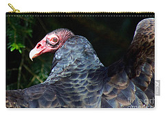 Carry-all Pouch featuring the photograph Turkey Vulture by Sean Griffin