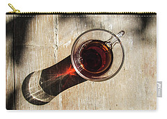 Turkish Tea On A Wooden Table Carry-all Pouch