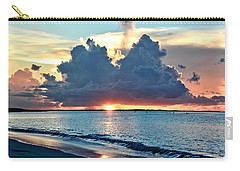Turks And Caicos Grace Bay Beach Sunset Carry-all Pouch