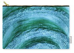 Carry-all Pouch featuring the digital art Turmoil by Wendy Wilton