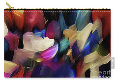 Carry-all Pouch featuring the digital art Turn Off The World And Tarry by Margie Chapman