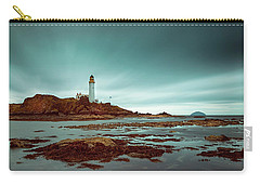 Turnberry Lighthouse Carry-all Pouch by Ian Good