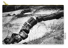 Carry-all Pouch featuring the photograph Turned To Stone by Paul W Faust - Impressions of Light