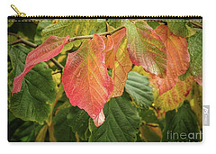 Carry-all Pouch featuring the photograph Turning by Peggy Hughes
