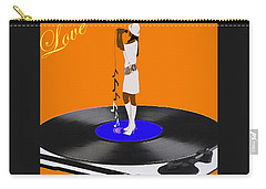 Turntable Love Carry-all Pouch by Shannon Staskin