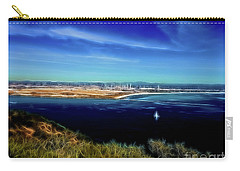 Turquoise Blue Waters Carry-all Pouch