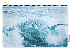 Carry-all Pouch featuring the photograph Turquoise Formations by Parker Cunningham