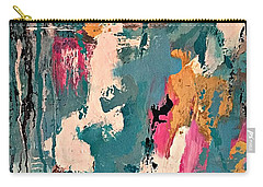 Turquoise Reflections No. 1 Carry-all Pouch
