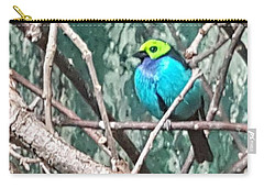 Turquoise Tanager Carry-all Pouch