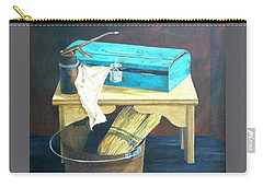 Turquoise Toolbox Carry-all Pouch