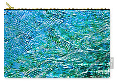 Turquoise Water Carry-all Pouch