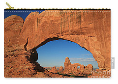 Turret Arch Through North Window  Carry-all Pouch