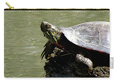 Turtle Bask Carry-all Pouch