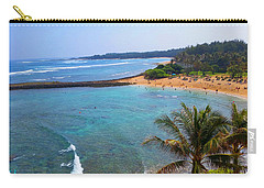 Turtle Bay Lagoon Carry-all Pouch by Michael Rucker