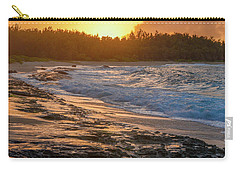 Turtle Bay Sunset 3 Carry-all Pouch