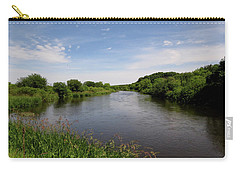 Carry-all Pouch featuring the photograph Turtle Creek by Kimberly Mackowski