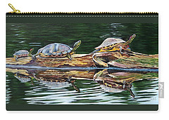 Turtle Family Carry-all Pouch